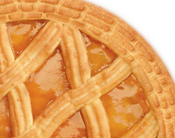 Crostata all'Albicocca 350g
